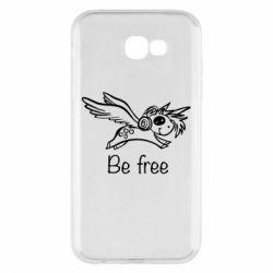 Чохол для Samsung A7 2017 Be free unicorn