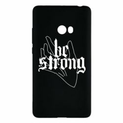 Чехол для Xiaomi Mi Note 2 Be strong lettering