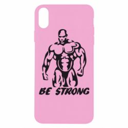 Чехол для iPhone Xs Max Be strong!