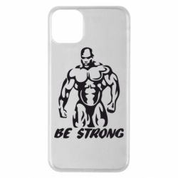 Чехол для iPhone 11 Pro Max Be strong!
