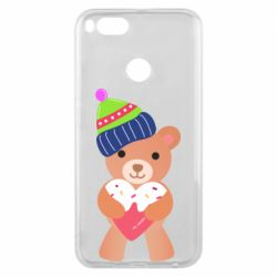 Чехол для Xiaomi Mi A1 Bear and gingerbread