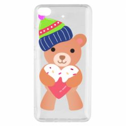 Чехол для Xiaomi Mi 5s Bear and gingerbread
