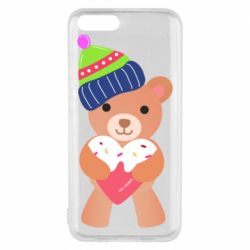 Чехол для Xiaomi Mi6 Bear and gingerbread