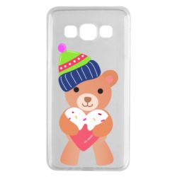 Чехол для Samsung A3 2015 Bear and gingerbread