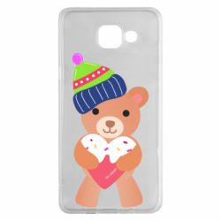 Чехол для Samsung A5 2016 Bear and gingerbread