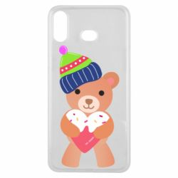 Чехол для Samsung A6s Bear and gingerbread