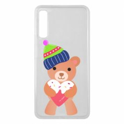 Чехол для Samsung A7 2018 Bear and gingerbread