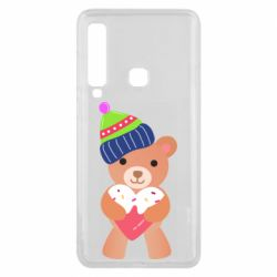 Чехол для Samsung A9 2018 Bear and gingerbread