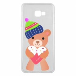 Чехол для Samsung J4 Plus 2018 Bear and gingerbread