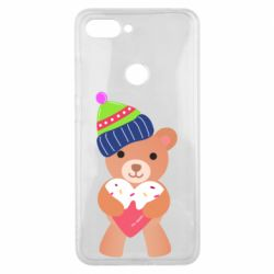 Чехол для Xiaomi Mi8 Lite Bear and gingerbread