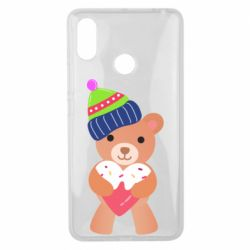 Чехол для Xiaomi Mi Max 3 Bear and gingerbread