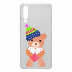 Чехол для Xiaomi Mi9 Bear and gingerbread