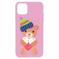 Чехол для iPhone 11 Bear and gingerbread