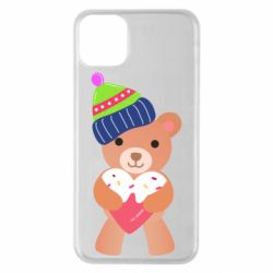 Чехол для iPhone 11 Pro Max Bear and gingerbread