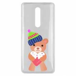 Чехол для Xiaomi Mi9T Bear and gingerbread