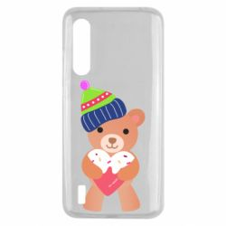 Чехол для Xiaomi Mi9 Lite Bear and gingerbread