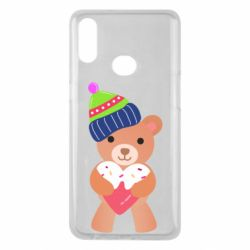 Чехол для Samsung A10s Bear and gingerbread