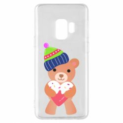 Чехол для Samsung S9 Bear and gingerbread