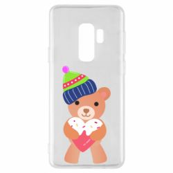 Чехол для Samsung S9+ Bear and gingerbread