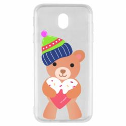 Чехол для Samsung J7 2017 Bear and gingerbread