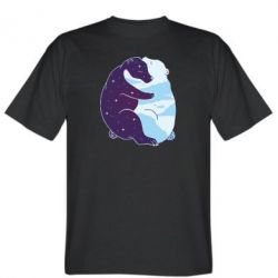 Чоловіча футболка Bear day and night