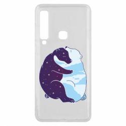 Чохол для Samsung A9 2018 Bear day and night