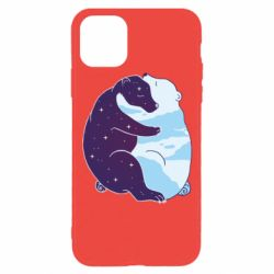 Чохол для iPhone 11 Pro Bear day and night