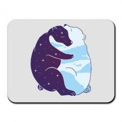 Килимок для миші Bear day and night