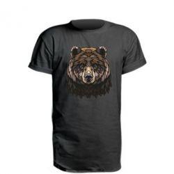 Подовжена футболка Bear graphic