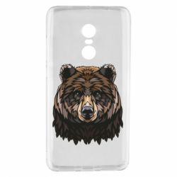 Чехол для Xiaomi Redmi Note 4 Bear graphic