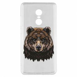 Чехол для Xiaomi Redmi Note 4x Bear graphic