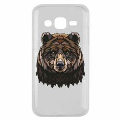 Чохол для Samsung J2 2015 Bear graphic