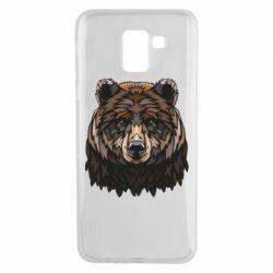Чохол для Samsung J6 Bear graphic