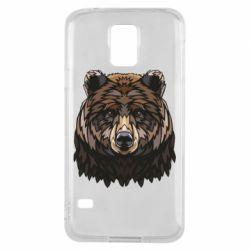 Чохол для Samsung S5 Bear graphic