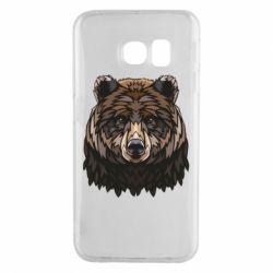 Чохол для Samsung S6 EDGE Bear graphic