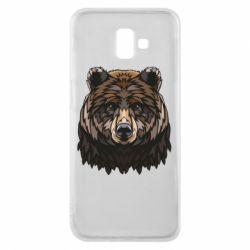 Чохол для Samsung J6 Plus 2018 Bear graphic