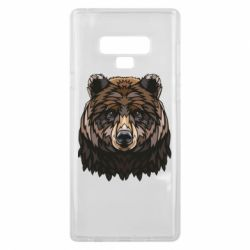 Чохол для Samsung Note 9 Bear graphic