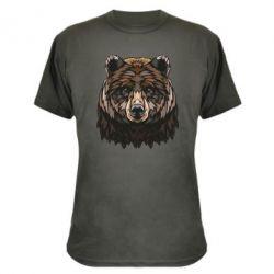 Камуфляжна футболка Bear graphic