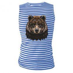 Майка-тільняшка Bear graphic
