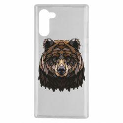 Чохол для Samsung Note 10 Bear graphic