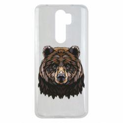 Чехол для Xiaomi Redmi Note 8 Pro Bear graphic