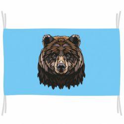 Прапор Bear graphic