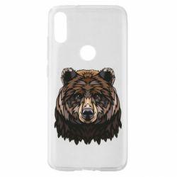 Чехол для Xiaomi Mi Play Bear graphic