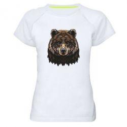 Жіноча спортивна футболка Bear graphic