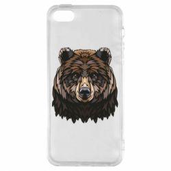 Чохол для iphone 5/5S/SE Bear graphic