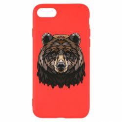 Чохол для iPhone 7 Bear graphic