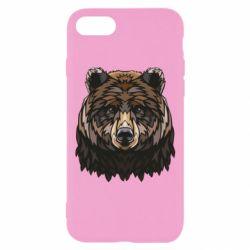 Чохол для iPhone 8 Bear graphic