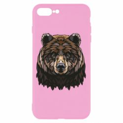 Чохол для iPhone 8 Plus Bear graphic