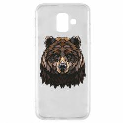 Чохол для Samsung A6 2018 Bear graphic