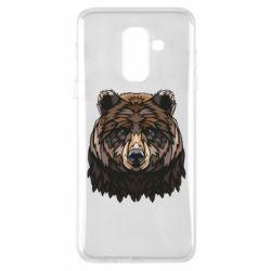 Чохол для Samsung A6+ 2018 Bear graphic